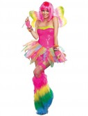 Rainbow Fairy Rave Dress