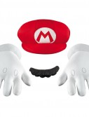 Super Mario Bros. - Mario Hat  Gloves And Mustache Kit