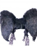 Adult (Black) Feather Angel Wings
