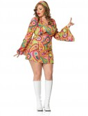 Hippie Chick Dress Adult Plus Costume