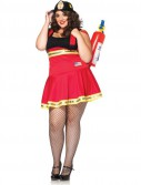 Three Alarm Hottie Adult Plus Costume