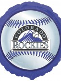 Colorado Rockies Baseball - 18 Foil Balloon