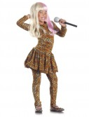 Rap Superstar Leopard-Print Child Costume