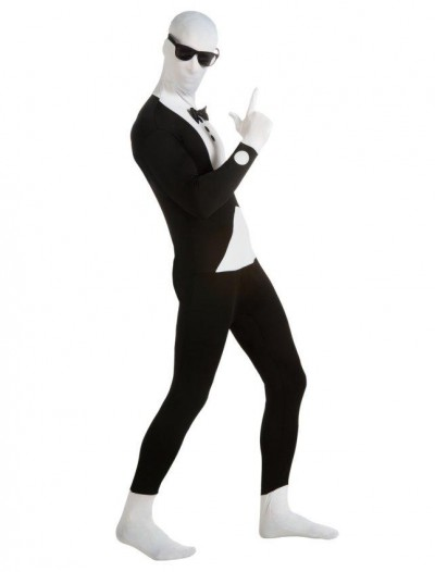 Tuxedo 2nd Skin Suit Adult Costume