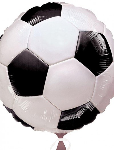 18 Foil Soccer-Themed Balloon