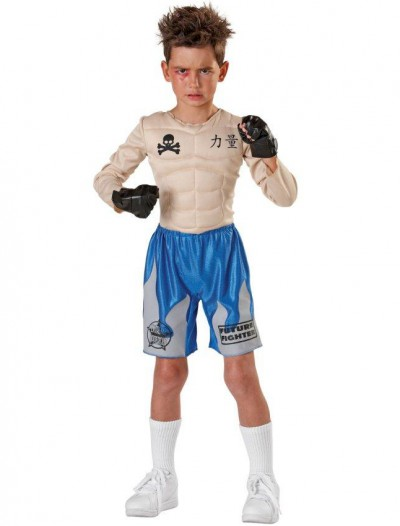 Impact Punch Fighter Child Costume