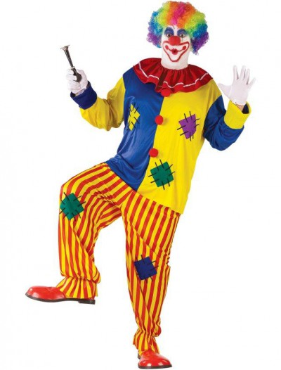 Big Top Clown Adult Plus Costume