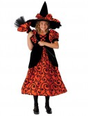 Deluxe Pocket Witch Child Costume