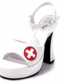 Nurse Betty (White) Adult Shoes