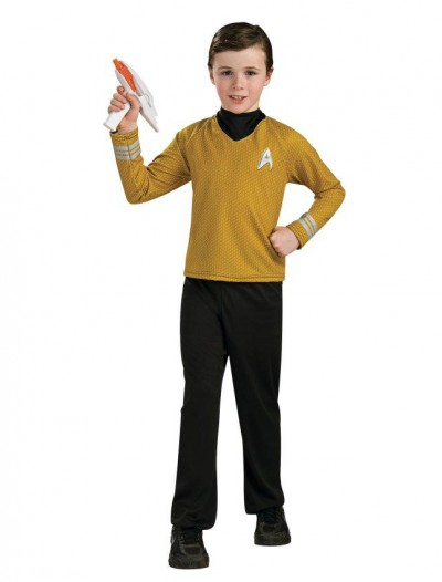 Star Trek Movie Deluxe (Gold) Shirt Child Costume