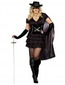Double-Edged Diva Zorro Plus Size Dress
