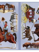 Wild West Character Props Wall Add-Ons