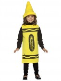 Yellow Crayola Crayon Child Costume