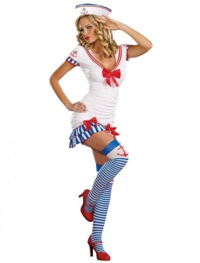 Sailor Pin-Up Adult Costume