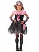 Deluxe Pink Skull Pirate Child Costume