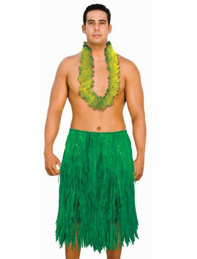 Adult 42 Green Grass Hula Skirt