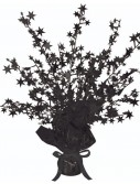 Black Foil Star Gleam 'N Burst Centerpiece