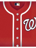 Washington Nationals Baseball - Lunch Napkins (36 count)