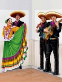 5' Fiesta Dancers Mariachi Add-Ons