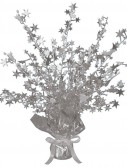 Silver Foil Star Gleam 'N Burst Centerpiece