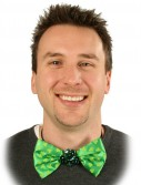 St. Patrick's Day Light Up Bow Tie