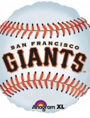 San Francisco Giants Baseball - Foil Balloon