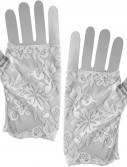 Lace Gloves Adult - Clearance Color Black