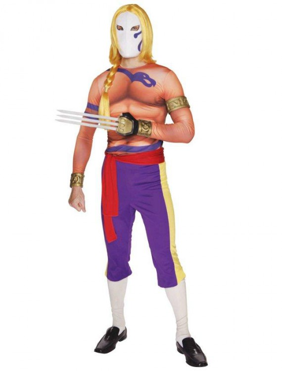 Street Fighter Vega Adult Costume