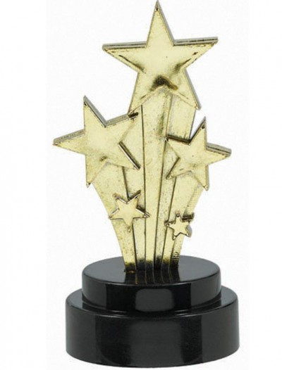 Hollywood Star Trophies (6 count)