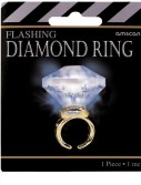 Light Up Faux Diamond Ring