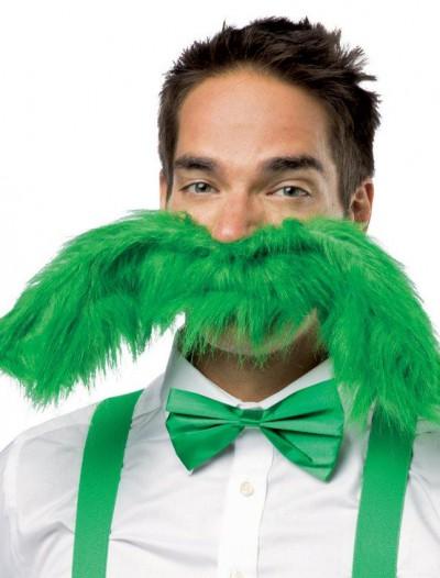 Super 'Stache Green 20 Mustache