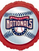 Washington Nationals Baseball - Foil Balloon