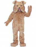 Bulldog (Tan) Mascot Adult Costume