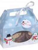 Snowman - Cookie Boxes (4 count)