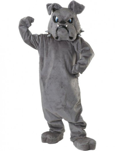Bulldog Spike Mascot Adult Costume