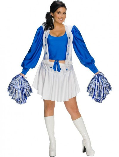 Dallas Cowboys Cheerleader Adult Plus Costume