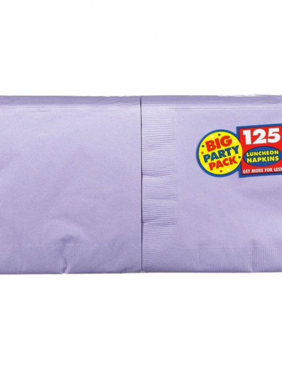 Lavender Big Party Pack - Lunch Napkins (125 count)