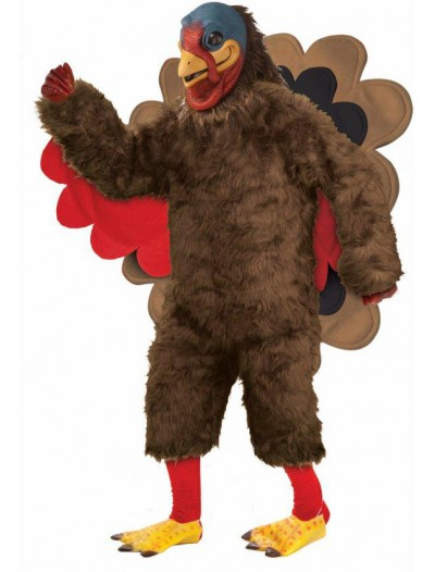 Tom the Turkey Mascot Adult Costume