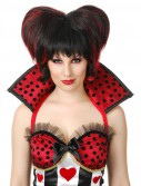 Gothic Queen Of Black Hearts Wig (Adult)