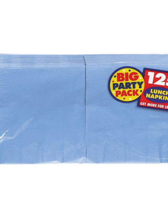 Pastel Blue Big Party Pack - Lunch Napkins (125 count)