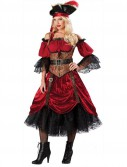 Swash Bucklin' Scarlet Elite Adult Costume - Clearance Sizes S and M