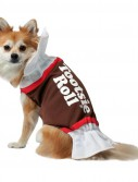 Tootsie Roll Dog Costume - Clearance Size XS
