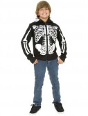 Skeleton Sweatshirt Hoodie Child Costume