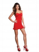 Red Dress Adult Costume
