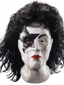 KISS - Starchild Latex Full Mask With Hair (Adult)