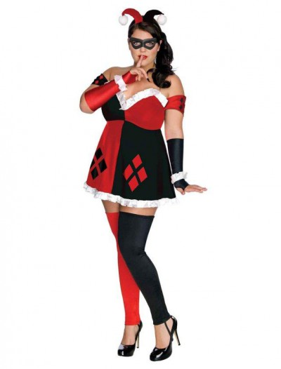 DC Comics - Super Villains Harley Quinn Plus Size Outfit