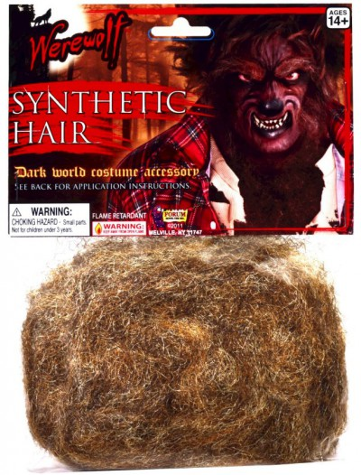 Werewolf Synthetic Hair Adult
