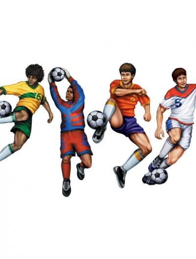 Soccer Cutouts (4 count)