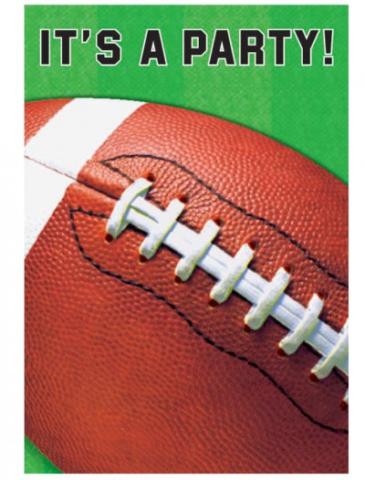 Football Invitations (8 count)