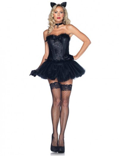 Black Cat Babe Adult Costume